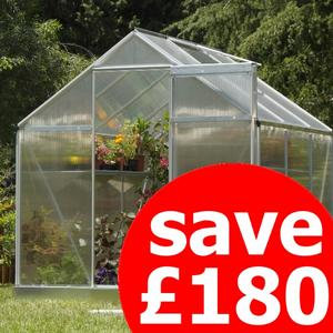 Palram Multiline 6ft x 6ft Greenhouse Preview